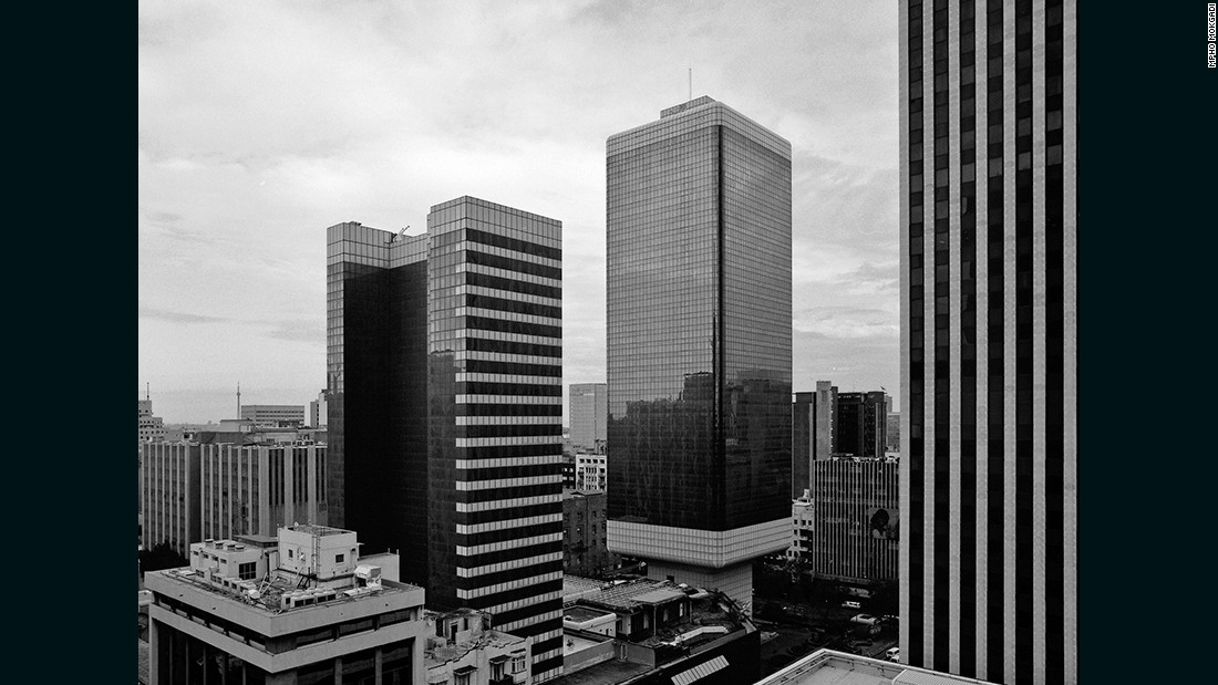 The twin towers of the Johannesburg Sun Hotel sustained a five-star rating from their opening in 1970 until the 1990s, when it was downgraded due to high crime rates in the surrounding downtown area. <br /><br />The hotel closed its doors in 1998, and after several failed attempts at reopening, stands empty today.