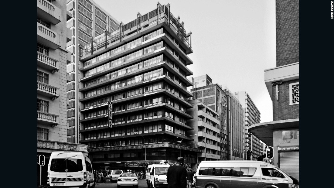 The 12-storey Diplomat Hotel had a reputation as a glamor spot during the 1970s, but is now better known as a hub of the vice industry, sometimes referred to as the 'House of the Rising Sun' of Johannesburg.