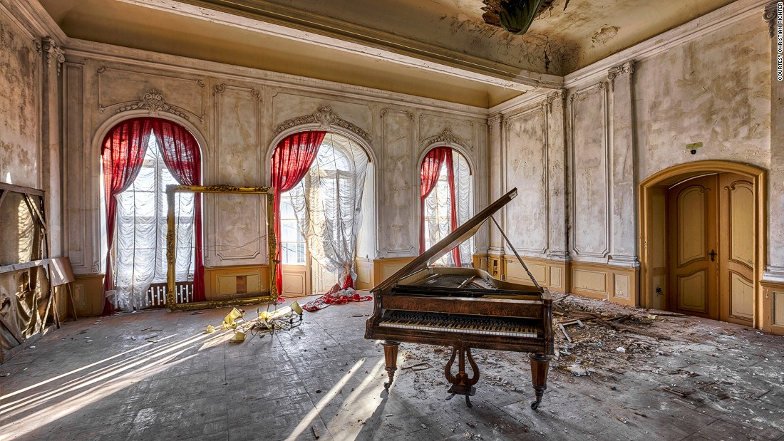 """In Germany, once cherished tourist hotspots were lost to the Cold War. <a href=""""https://instagram.com/richterchristian"""" target=""""_blank"""">Photographer Christian Richter</a> spent his teenage years exploring the abandoned buildings of what was then communist East Germany."""