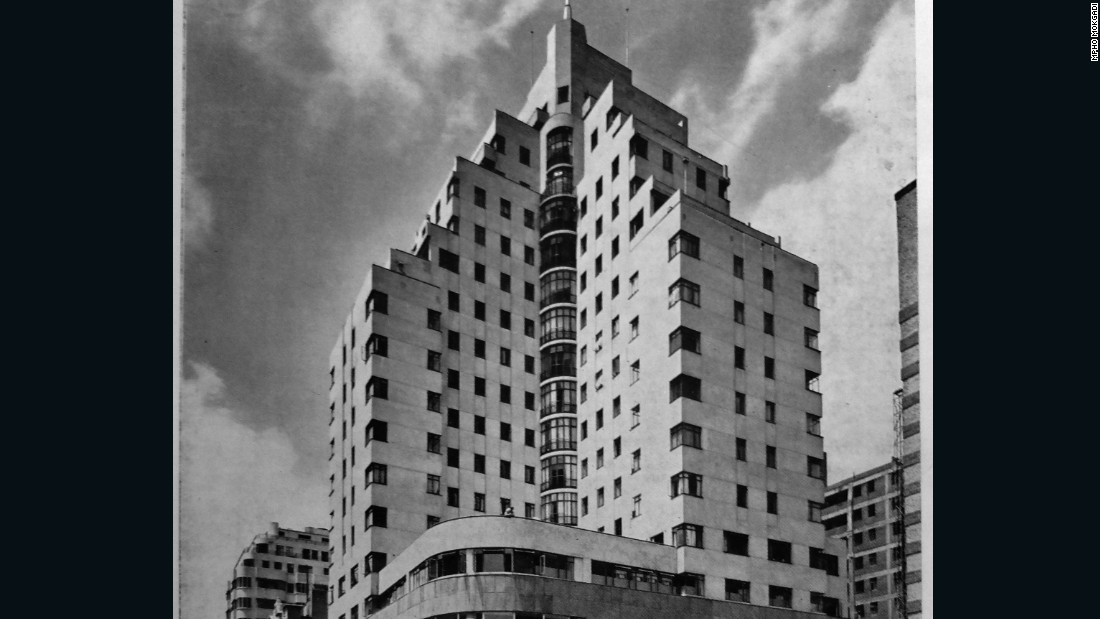 Anstey's is renowned as one of the most striking examples of the art deco style of the time, built in the tradition of raised, curved ziggurats that originated in ancient Mesopotamia.