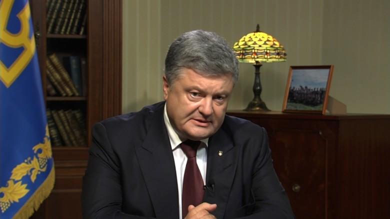 Ukraine President: Putin wants 'the whole ukraine'