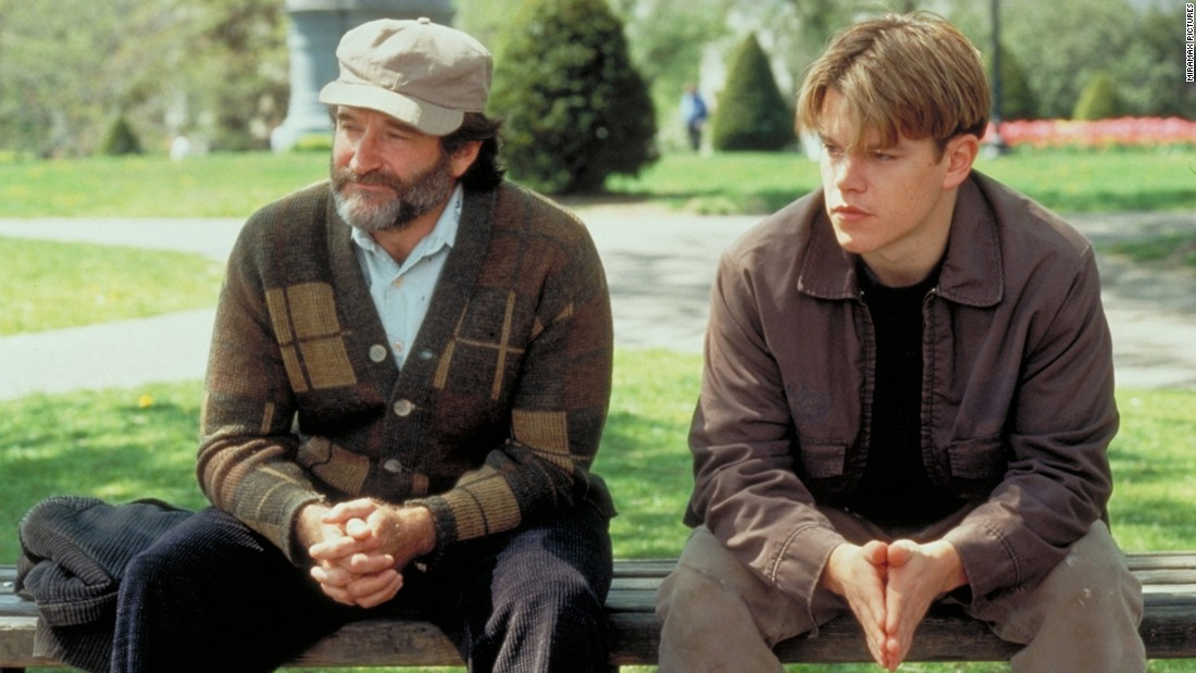 "<strong>""Good Will Hunting""</strong> :  Robin Williams stars as a therapist and Matt Damon as his genius patient in the film which won Damon and Ben Affleck a writing Oscar. <strong>(Amazon Prime) </strong>"