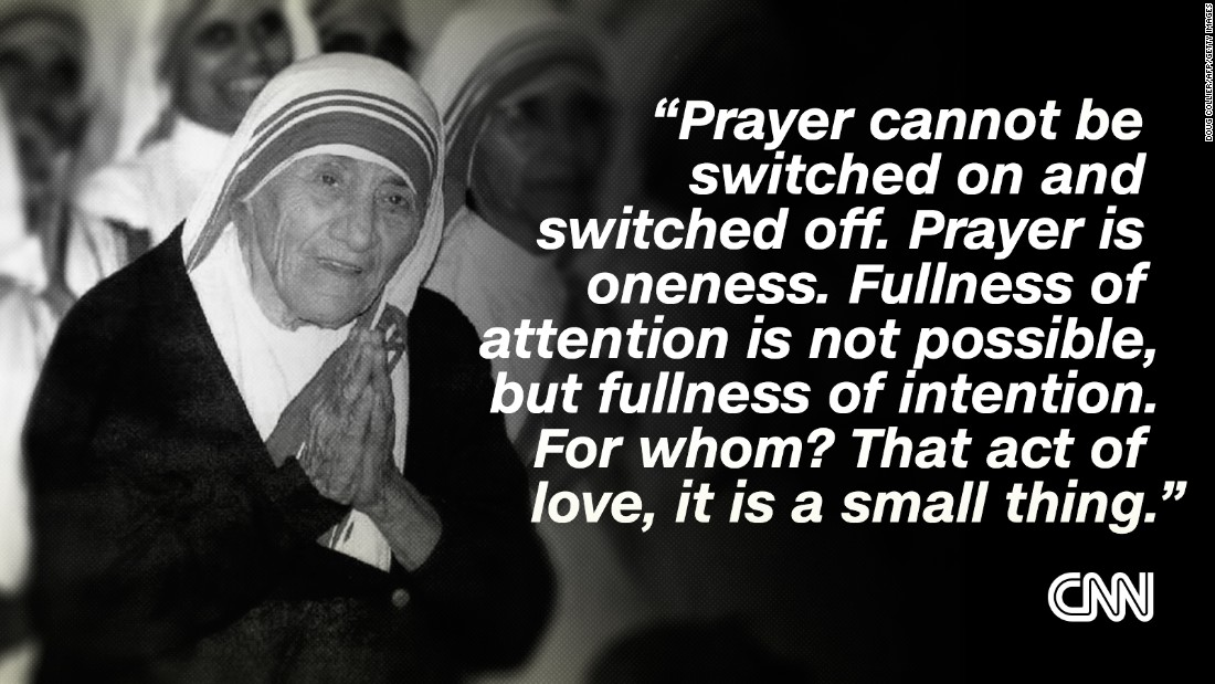 Mother Theresa quote 9