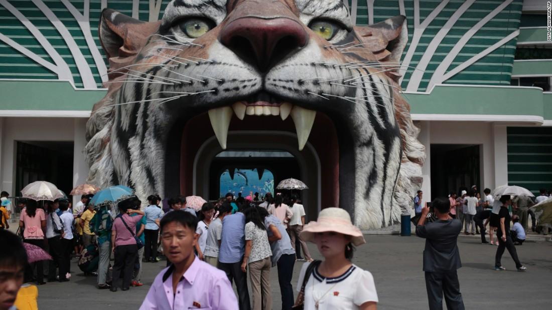 Take a look inside North Korea's zoo