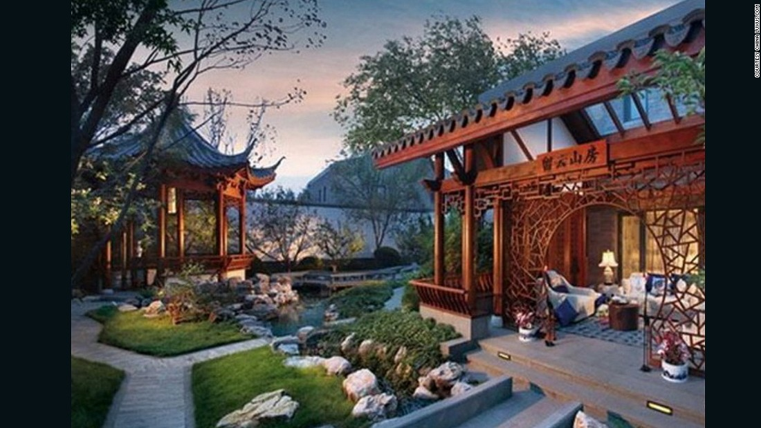 China 39 s super wealthy shun western looking homes for Traditional chinese house plans
