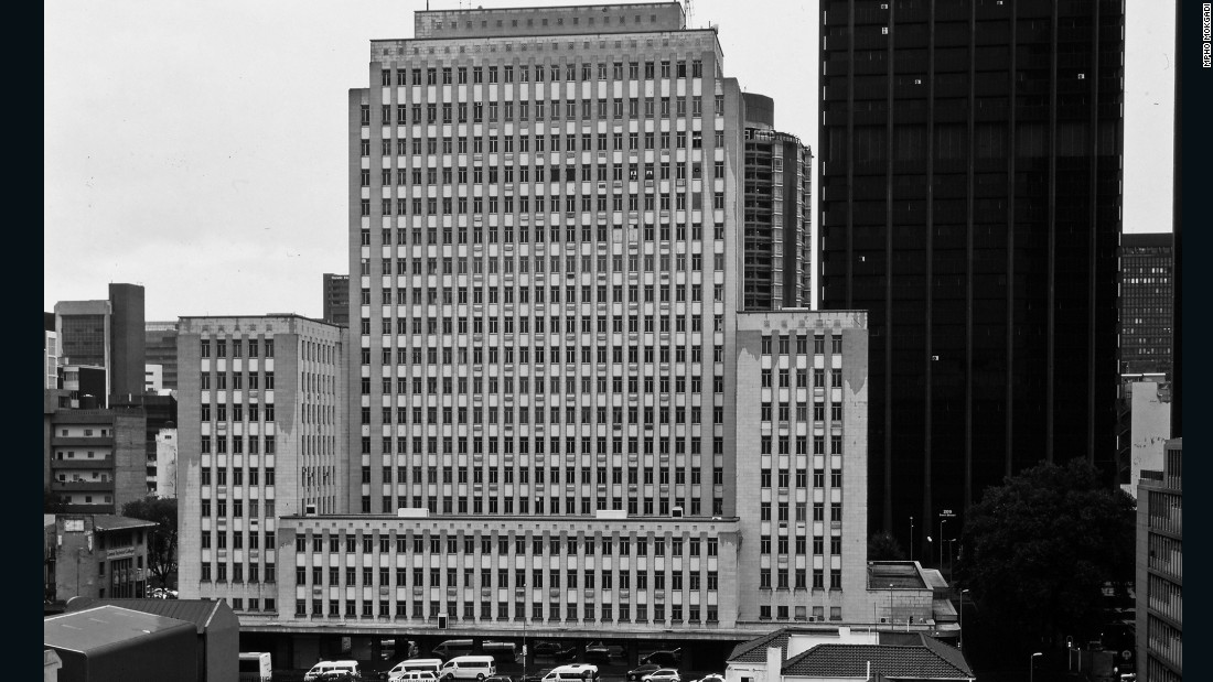 The 60-meter Eskom Centre was the tallest skyscraper in the city when it was completed in 1955 as the headquarters of the Electricity Supply Commission. <br /><br />The building still stands today but the company moved out over 20 years ago, declaring it inadequate for modern business needs.