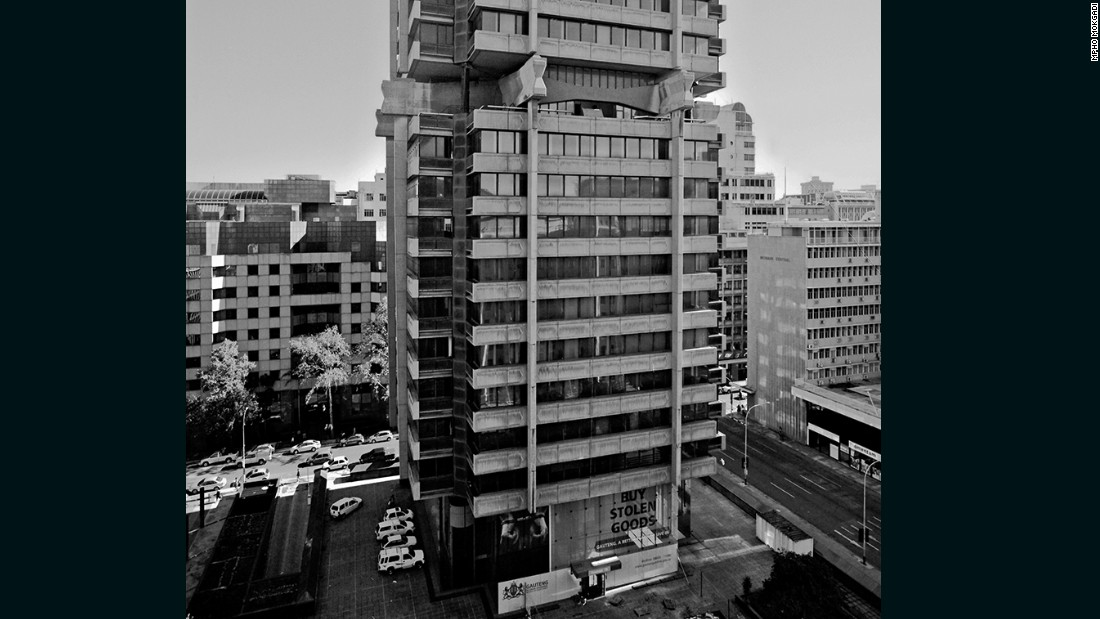 The futuristic Standard Bank Centre, built from the top down in the heart of Johannesburg's financial district, was hailed as a great architectural achievement.  <br /><br />The 82-meter building opened in 1970 and remains occupied by the original tenants.