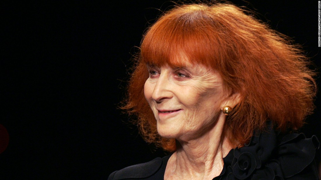 Designer Sonia Rykiel died Thursday at the age of 86.
