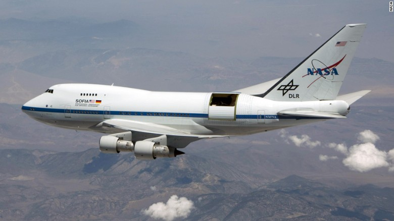 NASA's Super 747 SOFIA
