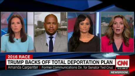 Pierson on Trump hasn't changed his position on immigration, he's changed the words that he is saying_00014227