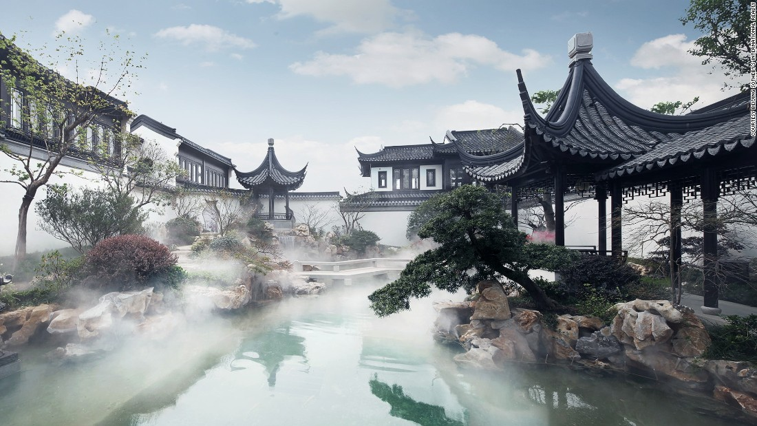 If you are looking for the most extravagant home in China, this brand new property might be it. The luxury house -- called 'Unique Taohuayuan' -- is on the market for an asking price of 1 billion Chinese Yuan (more than $150 million).