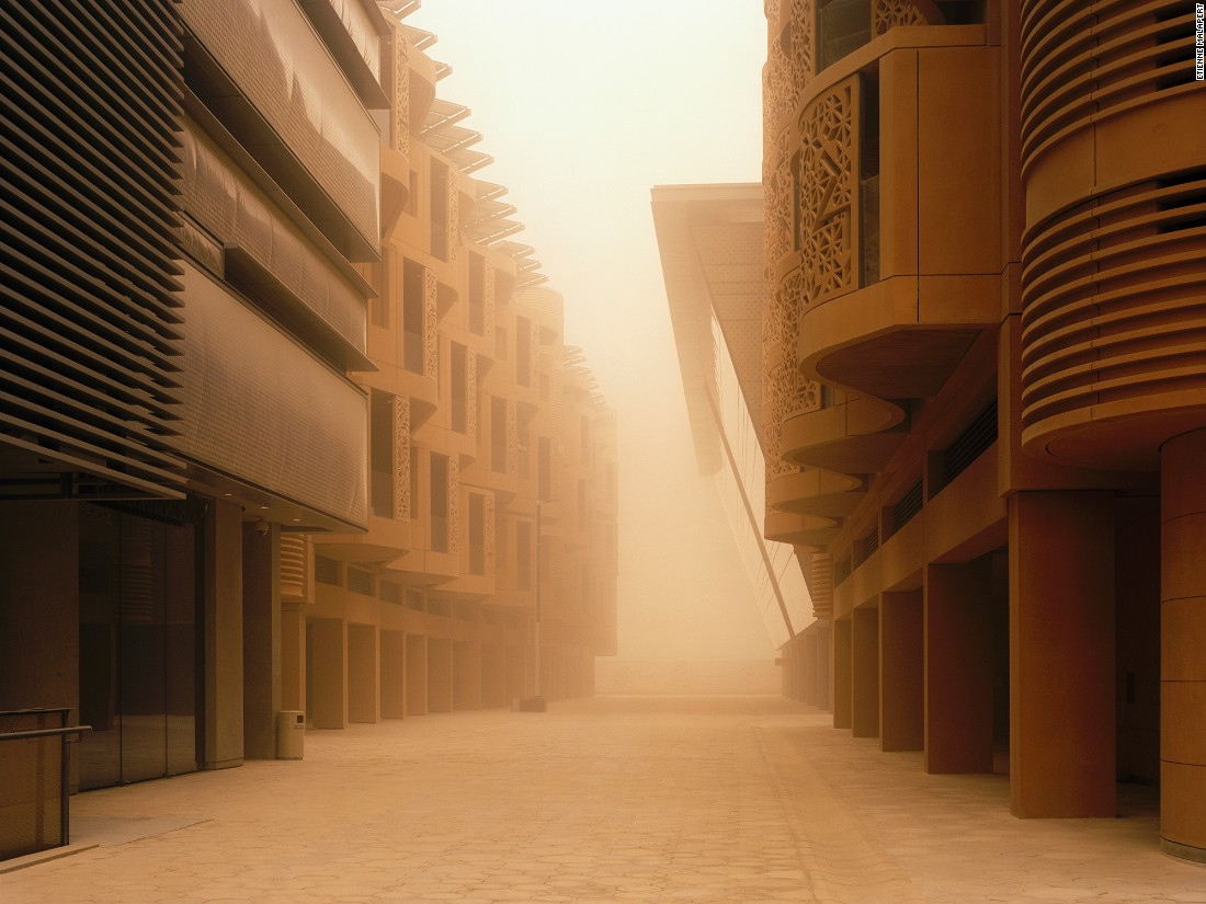 "French photographer <a href=""http://www.etiennemalapert.com/"" target=""_blank"">Etienne Malapert</a> first traveled to the city of Masdar in 2014, and returned a year later. He describes his experience photographing the 'city of possibilities: ""When I went to Masdar, there were still very few images of the city out there. I did a lot of research but it was still difficult to find pictures. So I saw some of the buildings of course, but I didn't really know what to expect."""