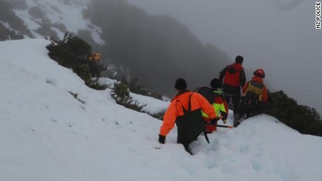Search and rescue teams found the missing hiker after almost five weeks.