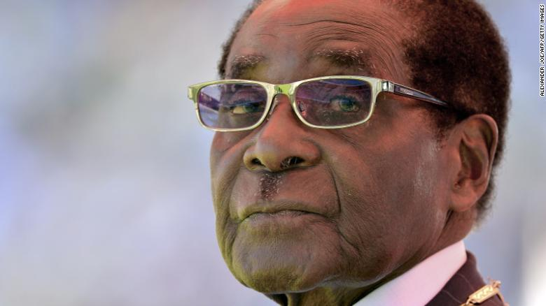 Robert Mugabe is sworn in for his seventh term as Zimbabwe's President in an August 2013 in Harare. He has been leader of the southern African country since 1980. Opposition protests have been growing against Mugabe, with many Zimbabweans saying they are fed up with corruption and the country's economic troubles.
