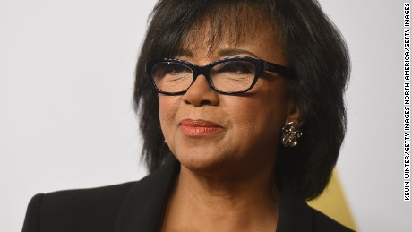 BEVERLY HILLS, CA - FEBRUARY 08:  Academy of Motion Picture Arts and Sciences President Cheryl Boone Isaacs attends the 88th Annual Academy Awards nominee luncheon on February 8, 2016 in Beverly Hills, California. (Photo by Kevin Winter/Getty Images)