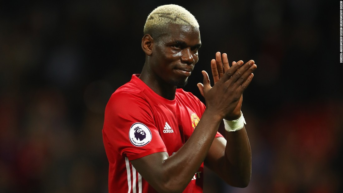 "On August 8, Paul Pogba became the most expensive signing in football history <a href=""http://cnn.com/2016/08/08/football/paul-pogba-manchester-united-juventus-football/"" target=""_blank"">after rejoining Manchester United from Juventus in a deal worth €105 million ($116 million).</a>"