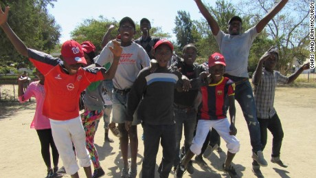 The Chilundu Leopards are part of a new generation of baseball in Zambia
