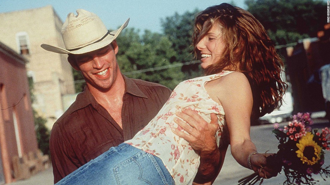 "<strong>""Hope Floats"" </strong>:  Harry Connick Jr. and Sandra Bullock reunite in this romantic drama about a woman who returns home to her small town after her marriage collapses.  <strong>(Netflix) </strong>"