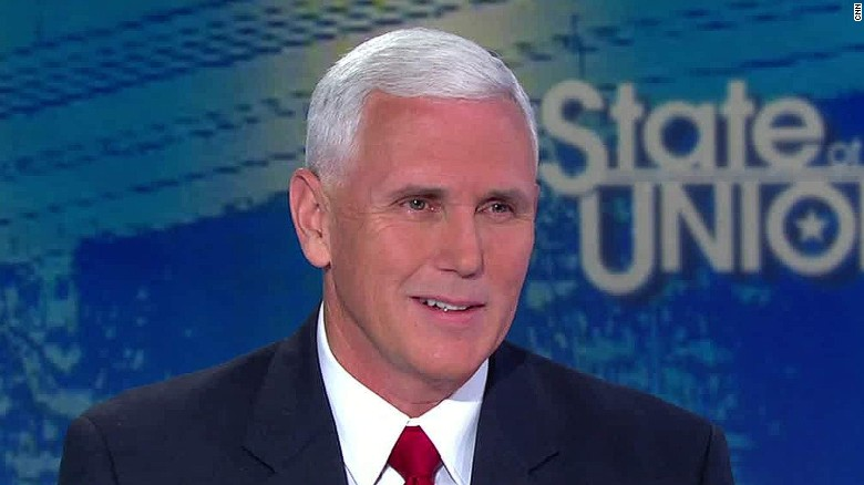 Pence: Kaine's KKK comments 'sound desperate'