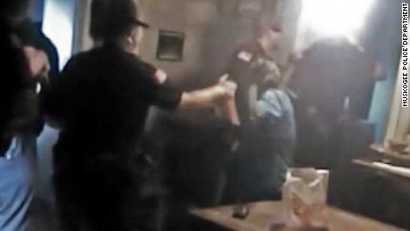 Cops pepper-spray 84-year-old woman
