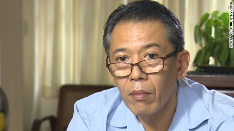 """Human rights lawyer Jose Manuel """"Chel"""" Diokno."""