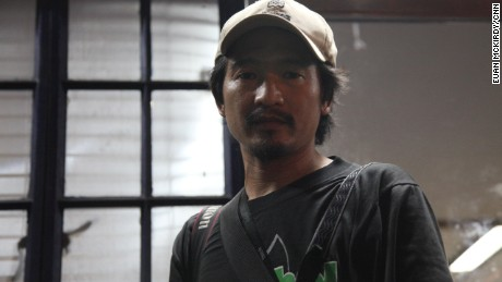 Raffy Lerma, a crime beat photographer for the Philippine Daily Inquirer.
