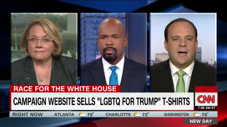 "Trump campaign website sells ""LGBTQ for Trump"" t-shirts_00053029"