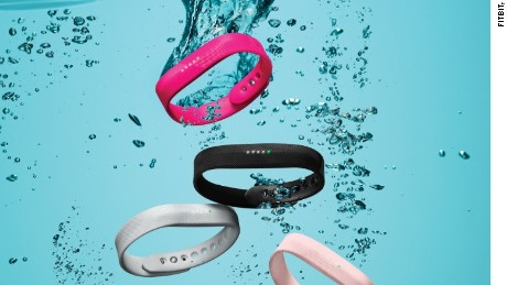 cnnmoney fitbit swim proof