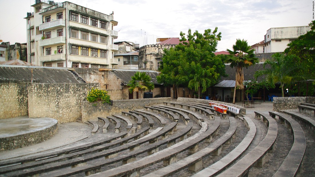 Built in the 17th century, Zanzibar's Old Fort is the oldest building on archipelago. The open-air amphitheater (pictured) regularly hosts dance and music events.