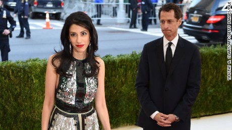 Image result for Abedin, Weiner separating after new sexting allegations