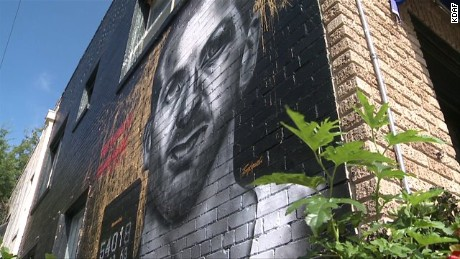 Lee Harvey Oswald mural