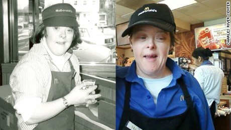 Worker with down syndrome retires