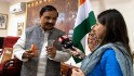 India's tourism minister confronted over skirt warning