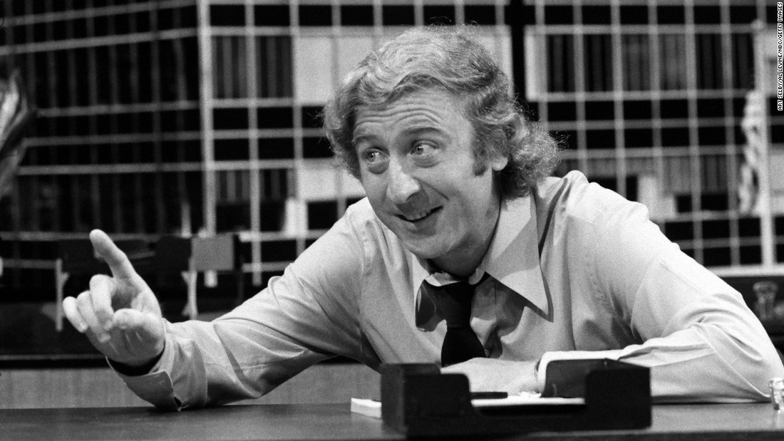 """Wilder appears in a sketch called """"The Office Sharers"""" during an NBC hourlong special called """"The Trouble With People"""" in 1972."""