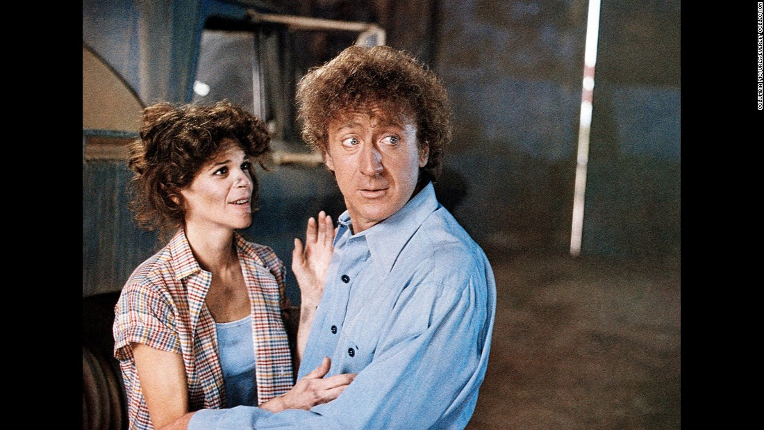 """Gilda Radnor stars with Wilder in 1982's """"Hanky Panky."""" The two married in 1984 and remained together until her death in 1989."""