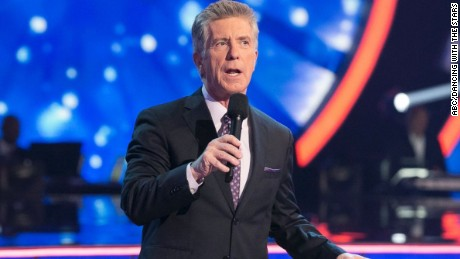 "Tom Bergeron hosts the popular ABC series ""Dancing With the Stars."""
