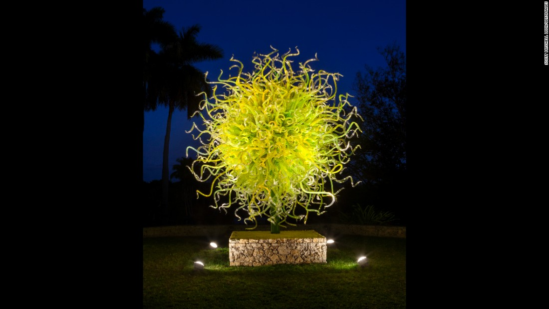"""The radiating """"Sol del Citrón"""" is especially eye-catching against the night sky."""