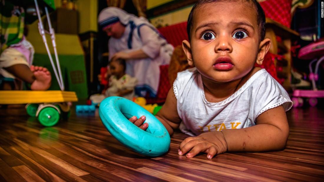 Mother Teresa opened Shishu Bhavan, a home for abandoned street babies and children, in Kolkata in 1955.