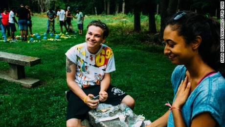 Anaële and Kyle met five years ago when they first arrived at a camp for the children who have lost parents or loved ones to terrorism. They became close friends.