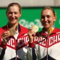 Makarova women's gold medalist doubles