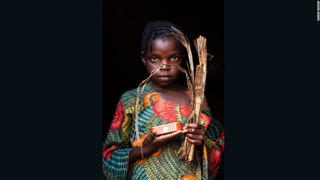 """Safinatou (Chef), Central African Republic. """"One day, I will be a chef""""."""