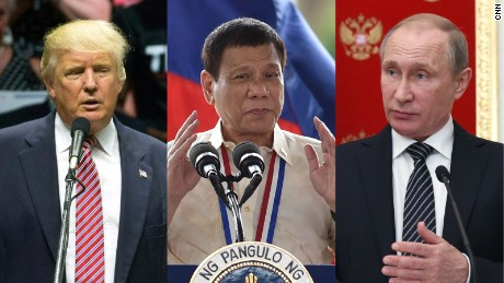 Trump, Putin or Duterte: Can you pick which politician said what?
