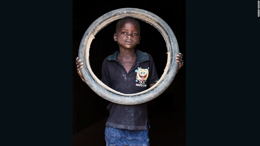 """Habou Lamirou (Driver), Niger. """"I want to be a driver so I can help my parents."""""""