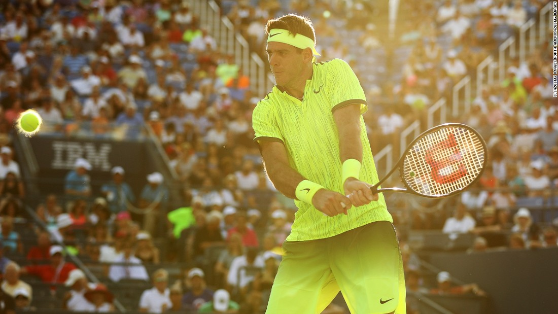 Fresh from claiming an Olympic silver medal, Juan Martin del Potro was in action on Tuesday. The Argentine eased through against compatriot Diego Schwartzman 6-3 6-3 7-6 (7-3).