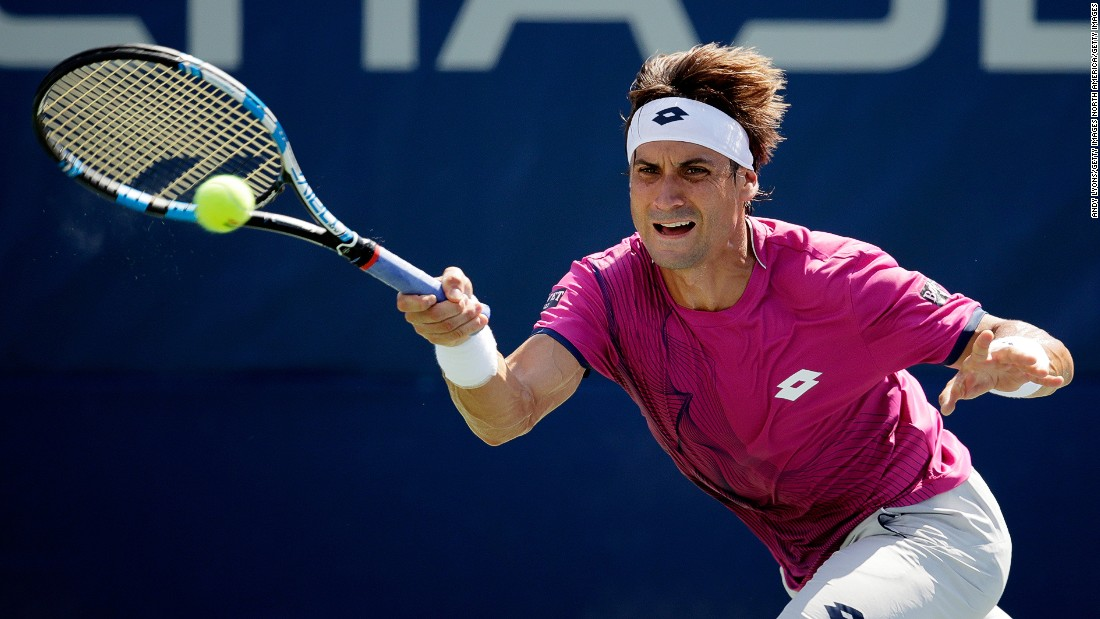 Verdasco's compatriot David Ferrer had more luck in his opening round match, progressing against Alexandr Dolgopolov after the Ukrainian was forced to retire before the end of the first set.