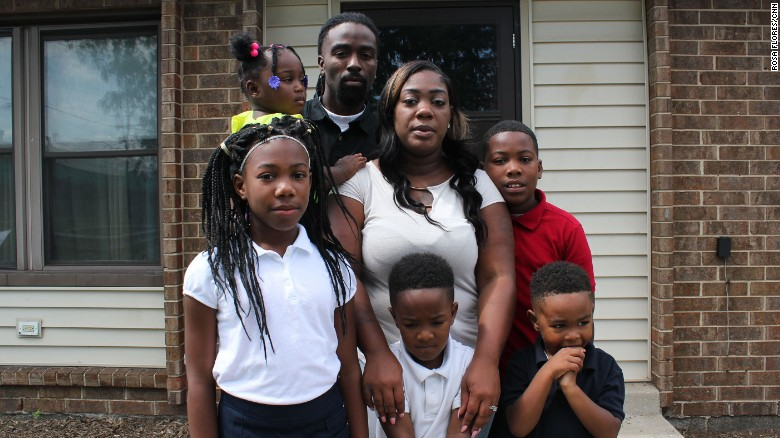 """They show all the signs of symptoms of having lead poisoning,"" Shantell Allen said."