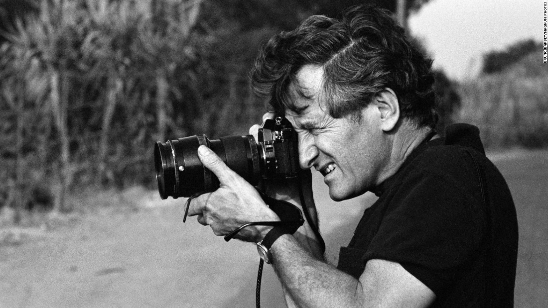 """A photo of Riboud himself. """"Marc's association with Magnum has been a long and fruitful one. ... Our thoughts and best wishes go out to his family,"""" Parr said."""