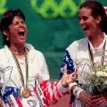 Gigi Fernandez and Mary Joe Fernandez Olympics Puerto Rico