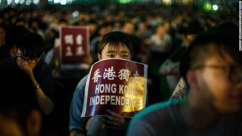 Hong Kong's banned candidates