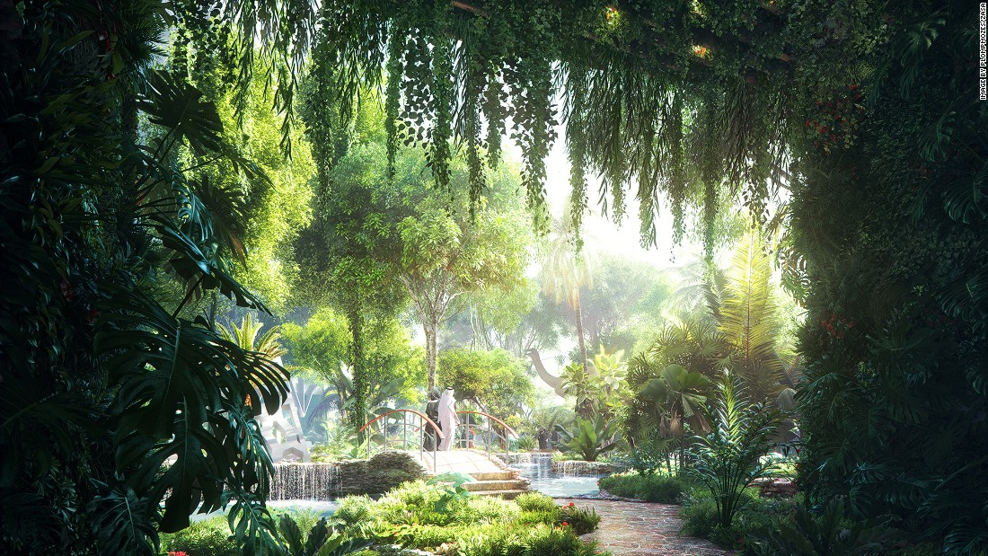 The latest architectural wonder slated for construction in Dubai: a rainforest inside a skyscraper hotel.